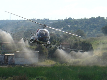 Καταπολέμηση κουνουπιών στην Περιφέρεια Πελοποννήσου