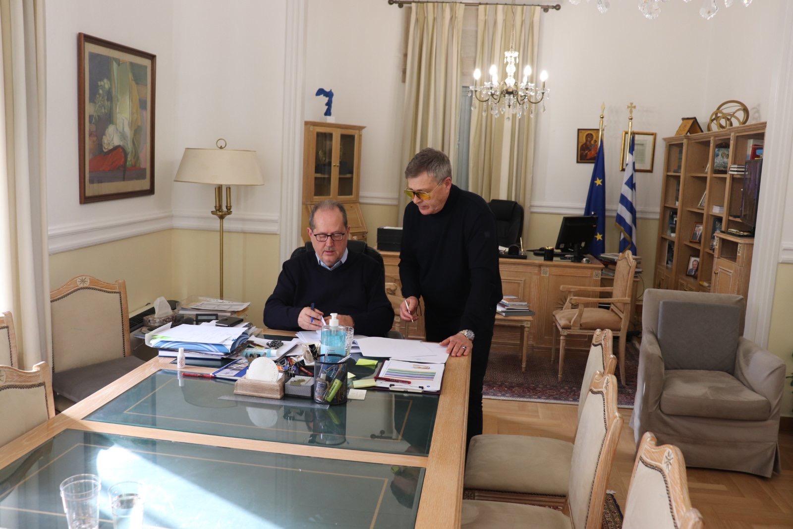 """Προγραμματική Σύμβαση μεταξύ της Περιφέρειας Πελοποννήσου και της """"Πελοπόννησος Α.Ε."""""""