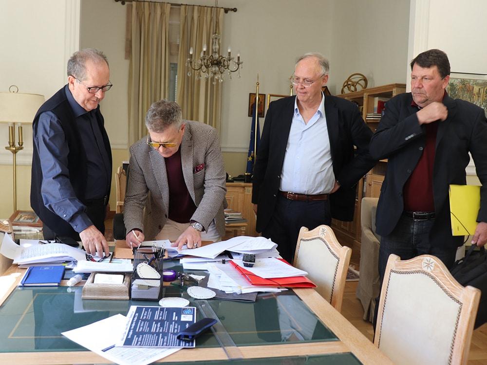 """Προγραμματική Σύμβαση μεταξύ της Περιφέρειας Πελοποννήσου, του Δήμου Σπάρτης και της """"Πελοπόννησος Α.Ε."""